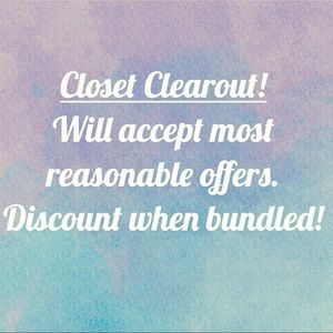 Other - Closet Clearout!
